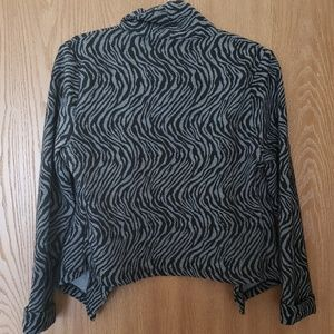 Poetry Jackets & Coats - Zebra Blazer